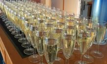 Champagne Flutes Reception Drinks
