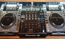 DJ Equipment Golden Flame