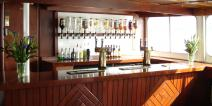 Golden Jubilee's lower deck bar