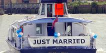 Wedding onboard the Golden Star